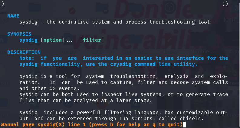 Sysdig a Powerful System Monitoring and Troubleshooting Tool for Linux