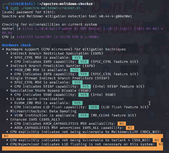 How to Check and Patch Meltdown CPU Vulnerability in Linux