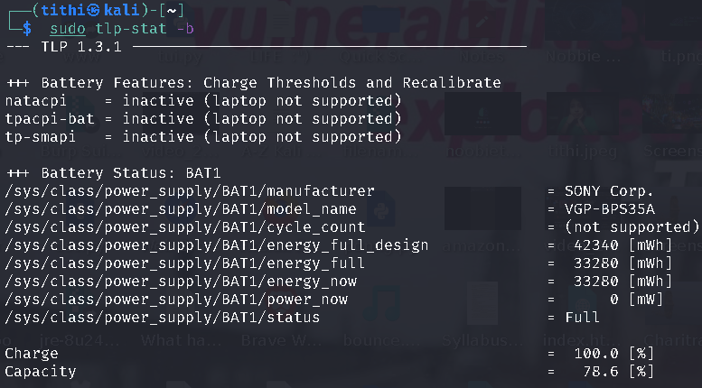 TLP Quickly Increase and Optimize Linux Laptop Battery Life