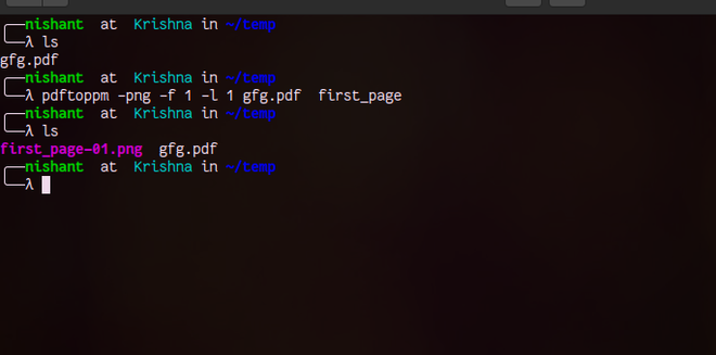 How to Convert PDF to Image in Linux Command Line