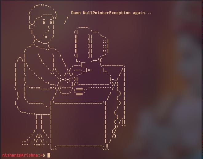How to Display Random ASCII Art on Terminal