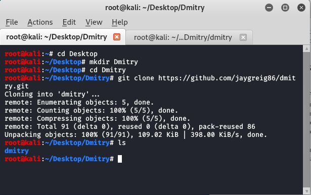 Dmitry Tool in Kali Linux | Passive Information Gathering Tool.