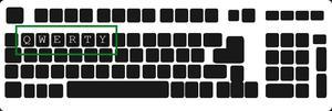 Qwerty Keyboard Layout