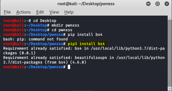 PwnXSS -An Automated XSS Vulnerability Scanner Tool In Kali Linux
