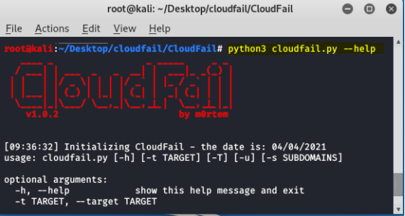CloudFail - Unmask/Bypass CloudFlare security