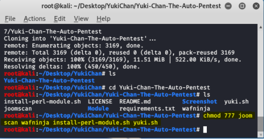 Yuki Chan - Automated Penetration Testing and Auditing Tool in Kali Linux