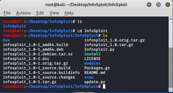 directory listing for infosploit