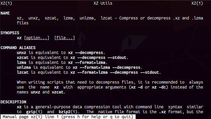 Learn XZ (Lossless Data Compression Tool) in Linux with Examples