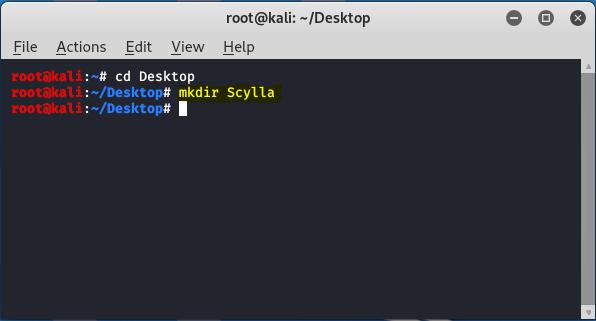creating scylla directory