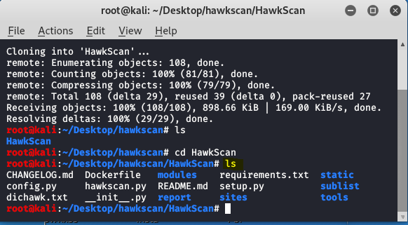 Hawkscan – Reconnaissance and Information Gathering Tool in Kali Linux