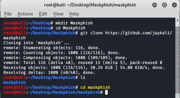 move to maskphish