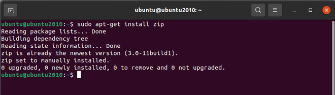 How to Install Zip and Unzip in Linux