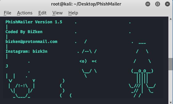 PhishMailer – Generate Professional Phishing Alert Templates in Kali Linux