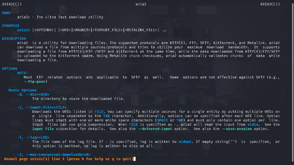 Aria2 A Multi-Protocol Command-Line Download Tool for Linux