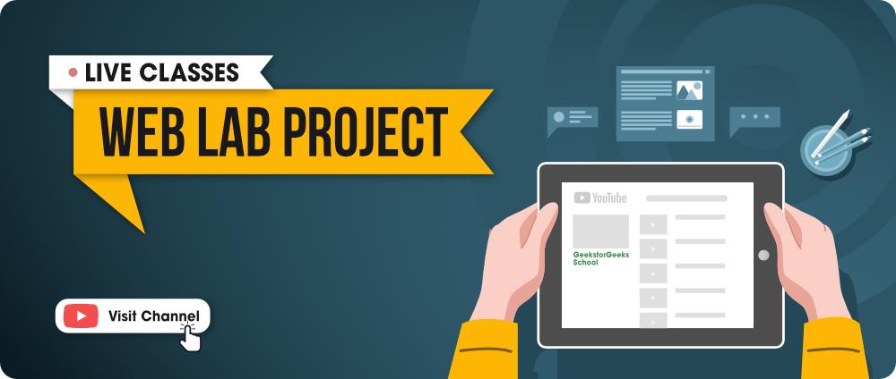 Web Lab Projects - GFG School