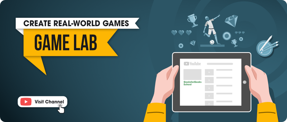 Real-World Games Using Game Lab - GFG School