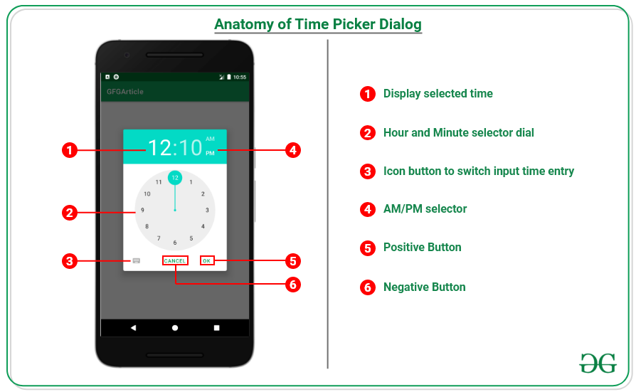 Time Picker Dialog in Android