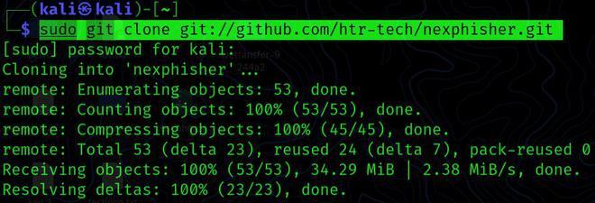 Nexphisher – Advanced Phishing tool for Kali Linux