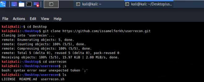 How to Install use and Run UserRecon Tool.