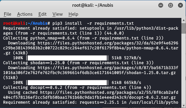 Anubis -subdomain enumeration and information gathering tool in kali linux
