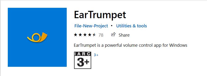EarTrumpet App