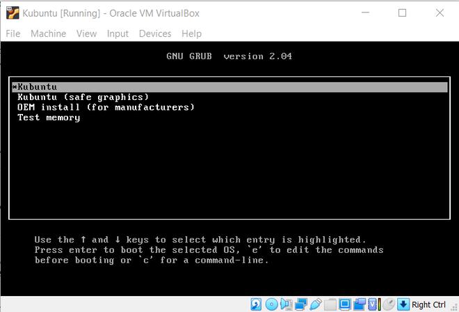 Starting with Kubuntu