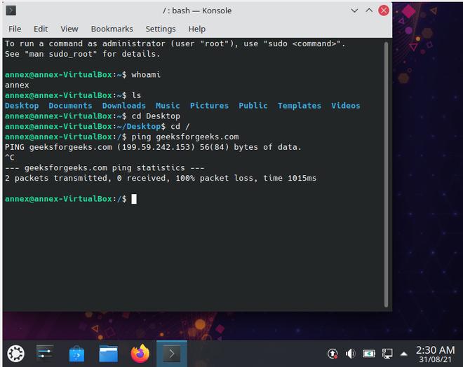 kubuntu installation