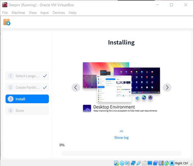 installing in VM