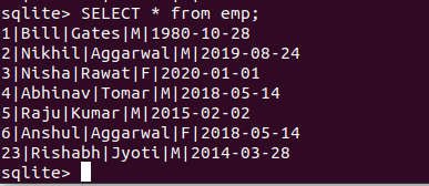 update sqlite3 table using Python