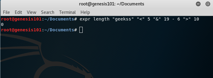 expr command in Linux with examples - GeeksforGeeks