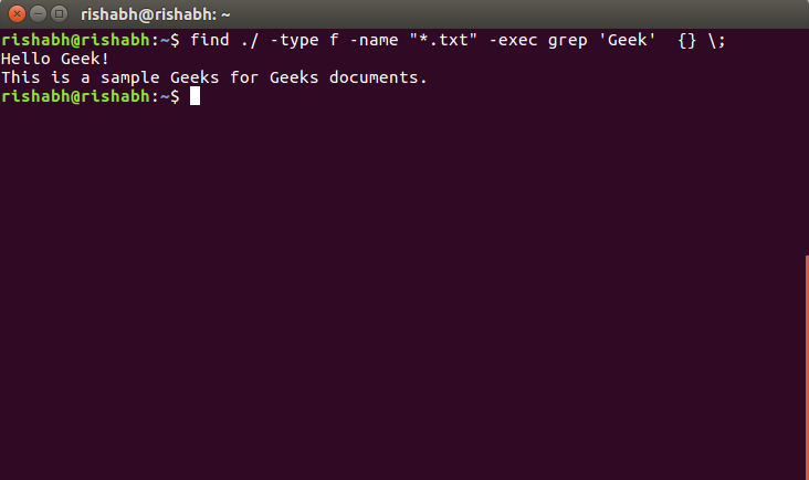 find command in Linux with examples - GeeksforGeeks