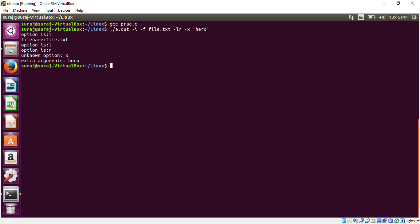 Bash scripting: using getopts arguments in unix/linux tutorial.