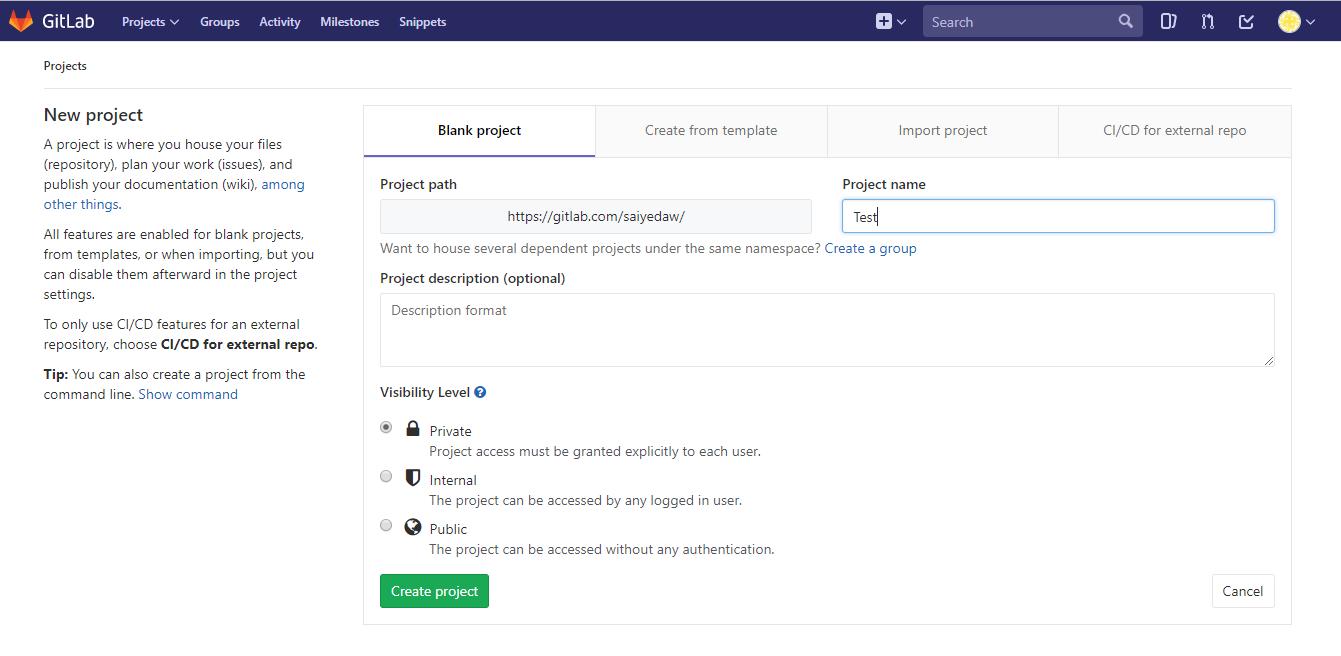 Setup GitLab Repository On Windows 10 - GeeksforGeeks