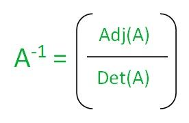 Finding inverse of a matrix using Gauss - Jordan Method