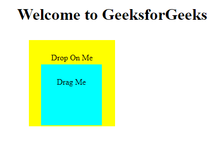 jQuery UI | draggable() and droppable() methods - GeeksforGeeks