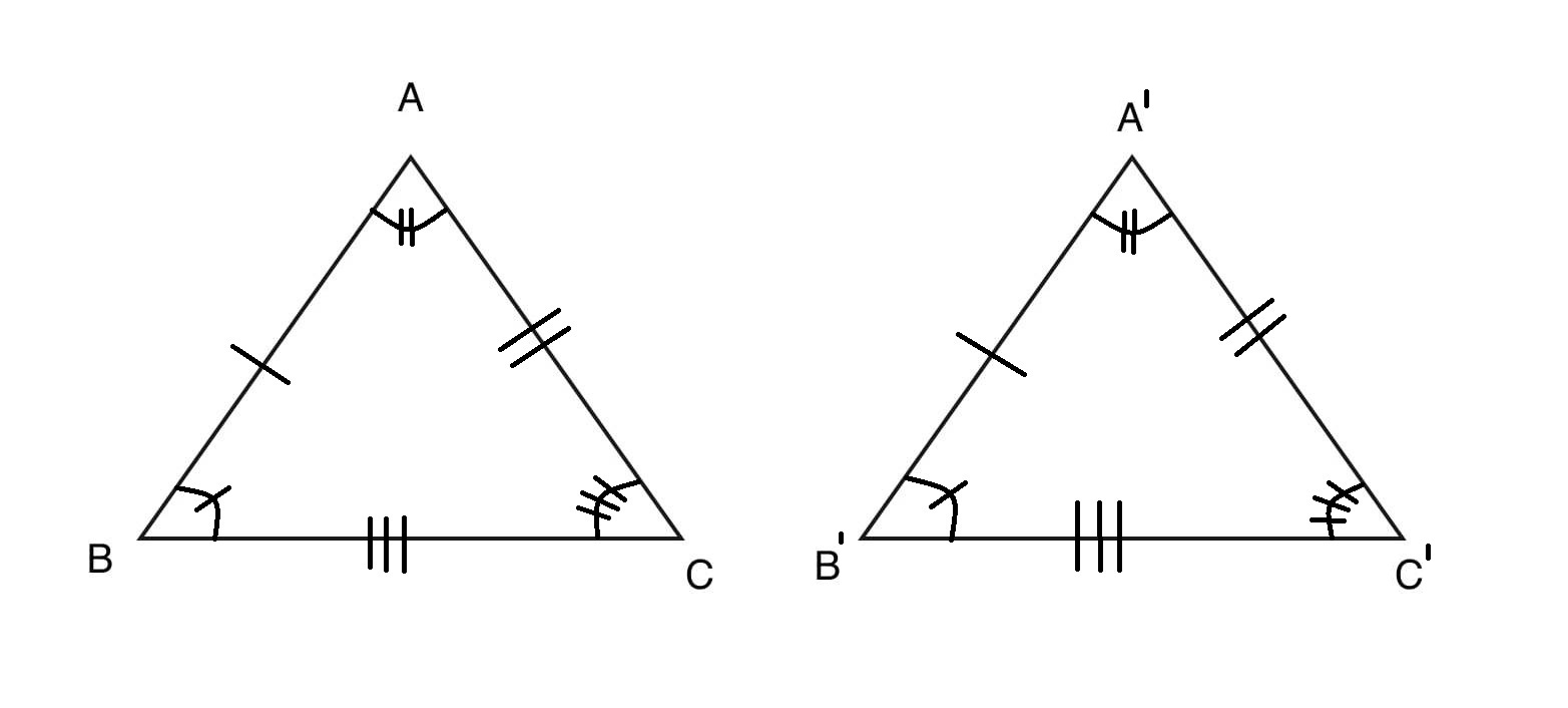 Program To Check Congruency Of Two Triangles Geeksforgeeks