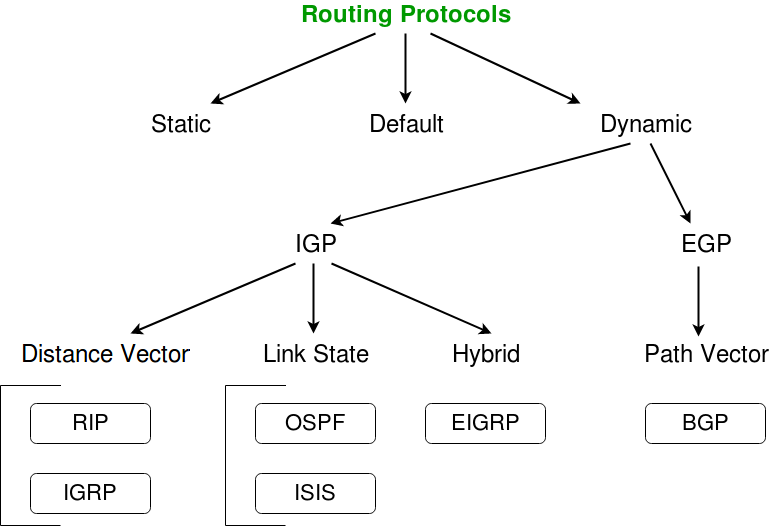Routing v/s Routed Protocols in Computer Network - GeeksforGeeks