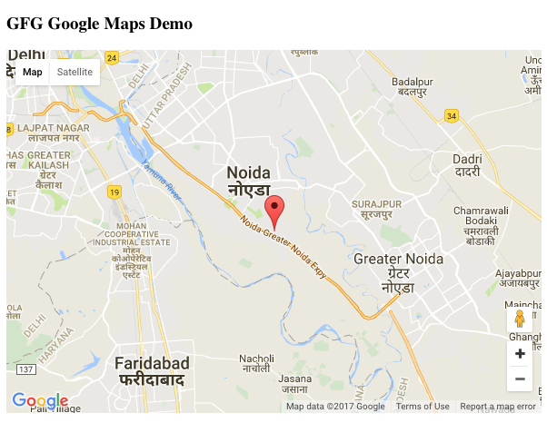 How To Add Google Maps With A Marker to a Website