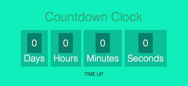 How To Create A Countdown Timer Using JavaScript - GeeksforGeeks