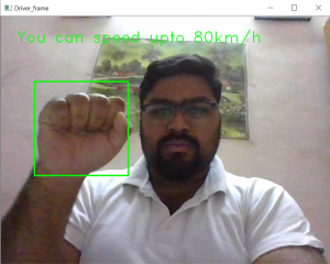 Car driving using hand detection in Python - GeeksforGeeks