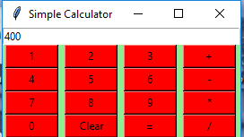 Python | Simple GUI calculator using Tkinter - GeeksforGeeks