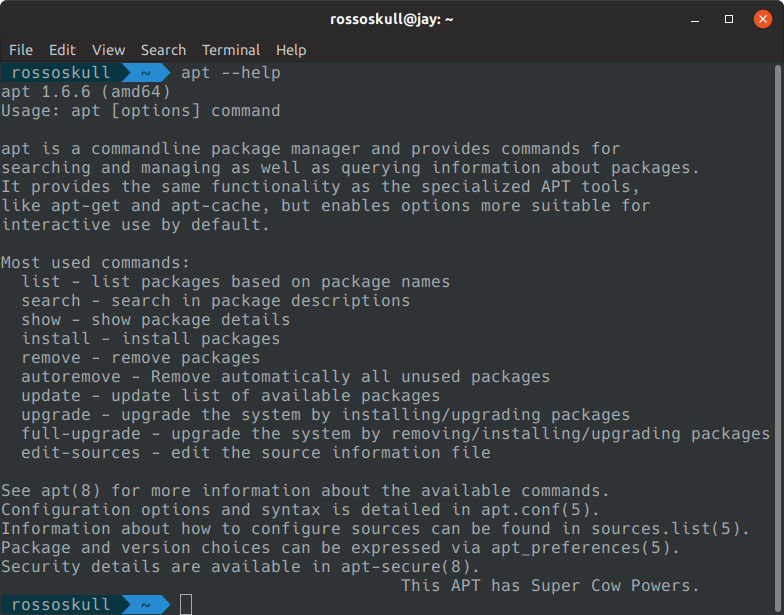 apt command in linux with examples - GeeksforGeeks