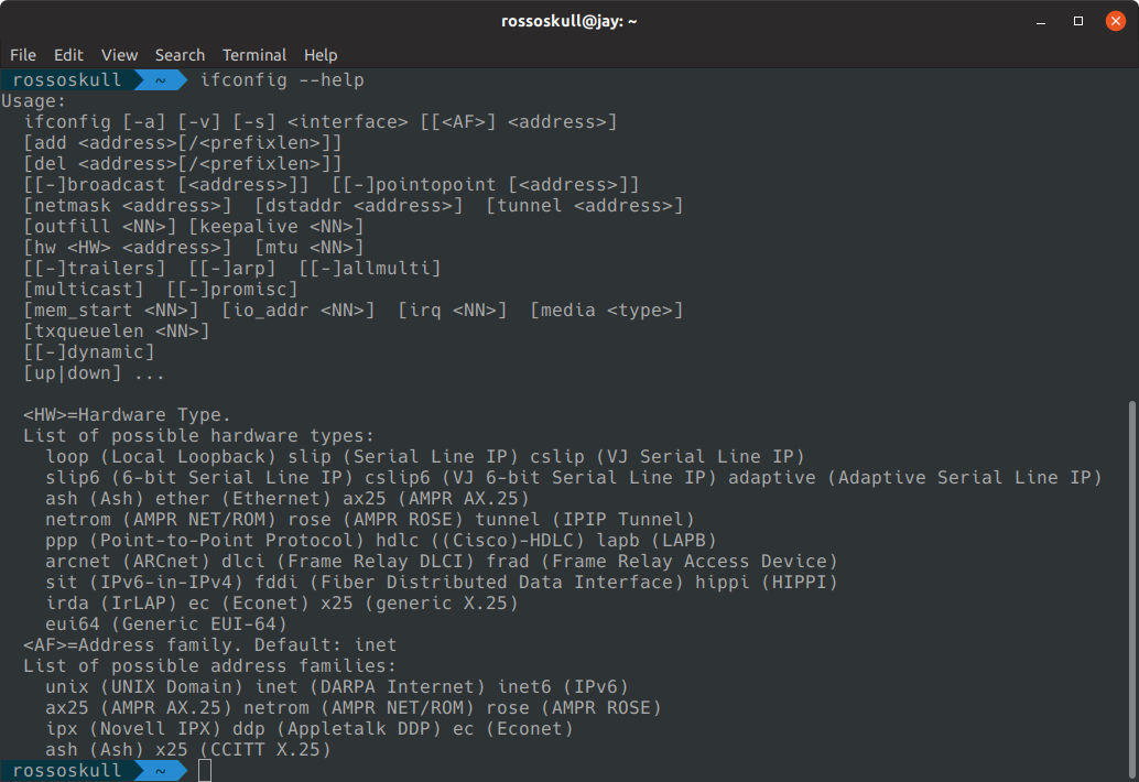 ifconfig command in Linux with Examples - GeeksforGeeks