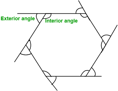 interior and exterior angle