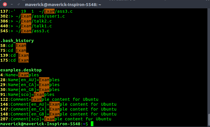 mindepth and maxdepth in Linux find() command for limiting