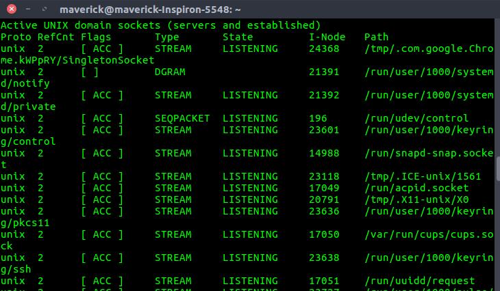 Netstat command in Linux - GeeksforGeeks