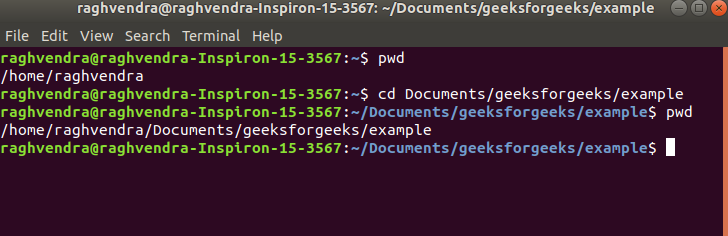 cd command in Linux with Examples - GeeksforGeeks