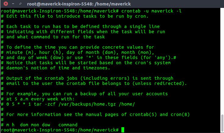 crontab' in Linux with Examples - GeeksforGeeks