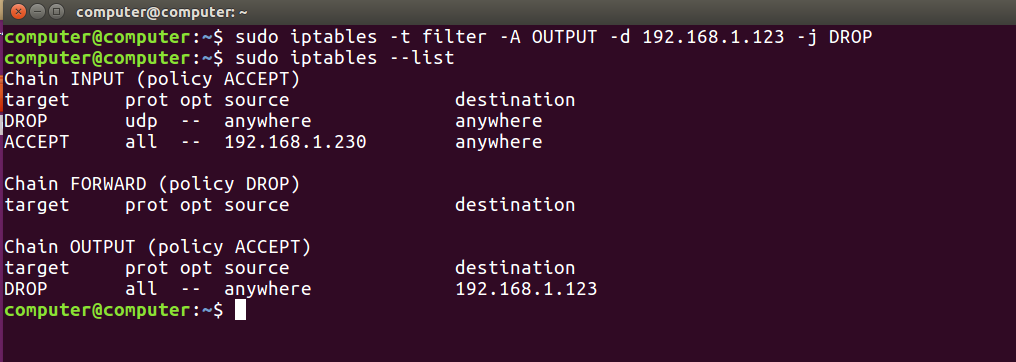 iptables command in Linux with Examples - GeeksforGeeks