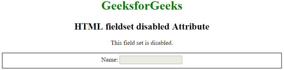 disabledfieldset